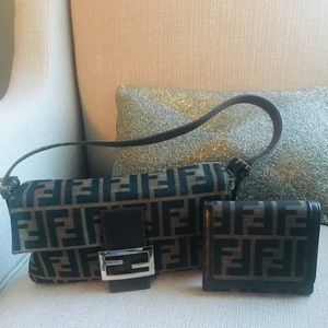 Fendi Baquette Mini Bag with wallet included!!